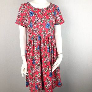 Honey and Lace Dresses - Honey & Lace (piphany) Pink Windsor Floral Dress